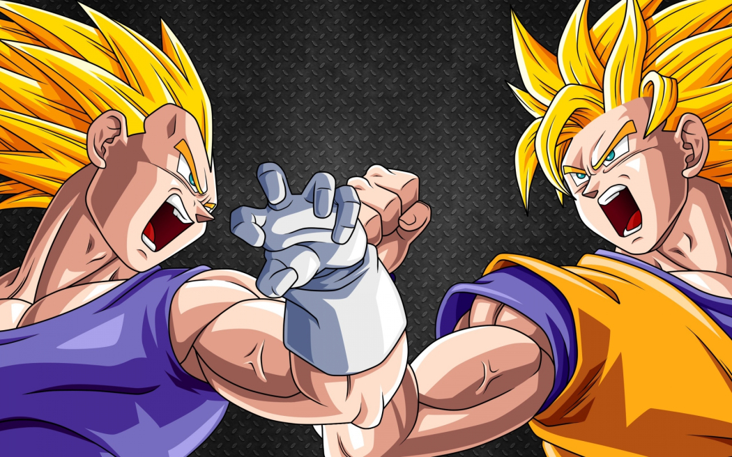 Goku-and-Vegeta_Haruhichan.com_ 10,000 Anime Fans Voted for Their Most Favorite Same-Sex Pairings