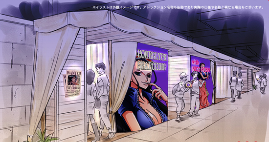 optt Luffy and Franky highlight new Tokyo One Piece Tower attractions