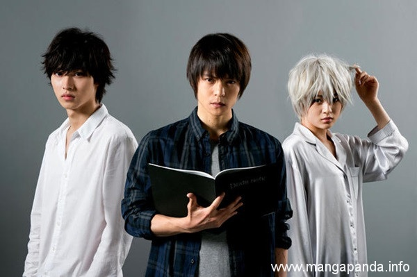 """Character Visuals for """"Death Note"""" TV Drama Adaptation Revealed"""