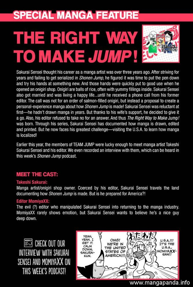 """English """"Shonen Jump"""" Presents Special Behind-The-Scenes and Plans New Round of """"Jump Start"""""""