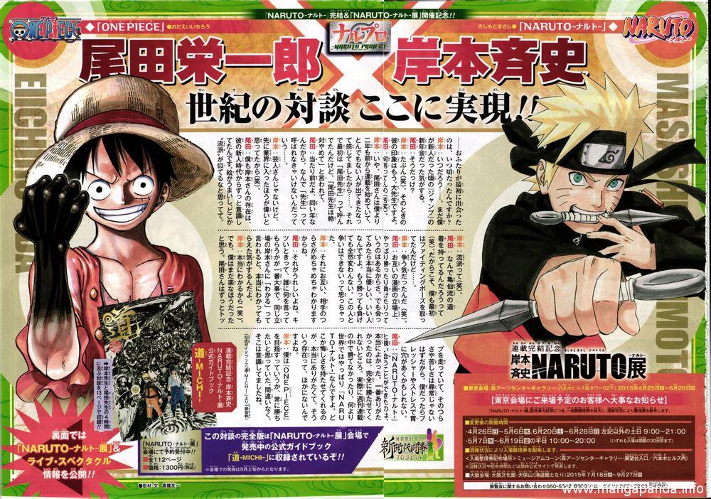 Masashi Kishimoto (Naruto) x Eiichiro Oda (One Piece) Interview