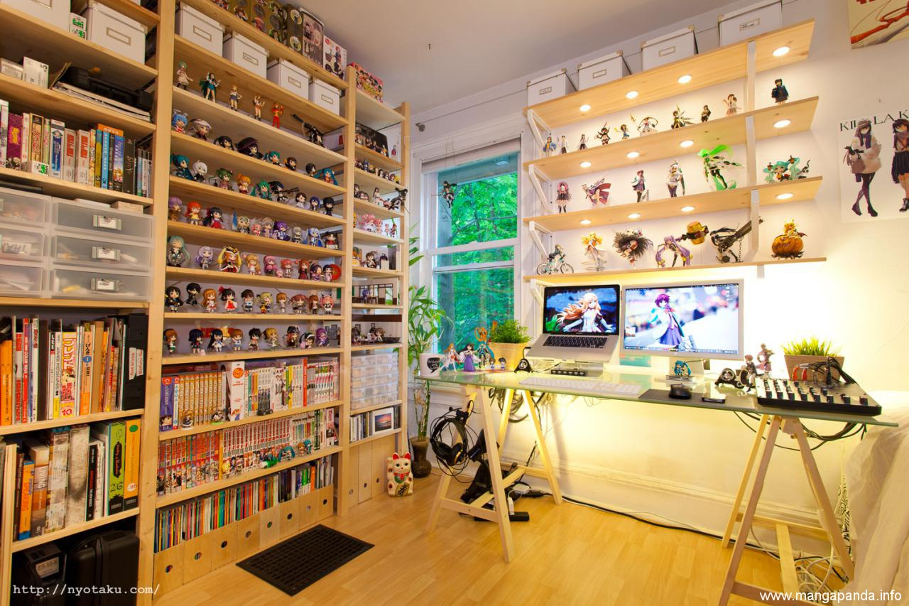Is This The Greatest Anime Room Ever Anime Manga