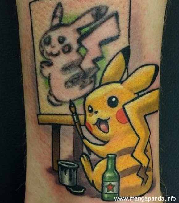 the-secret-reason-why-this-pikachu-tattoo-is-one-of-the-best-you'll-ever-see The secret reason why this Pikachu tattoo is one of the best you'll ever see