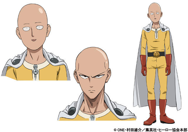 """""""One-Punch Man"""" Anime October Schedule and """"Oppai"""" Parka Publicized"""