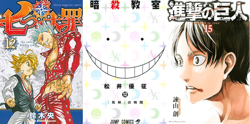 The Top Selling Manga of 2015