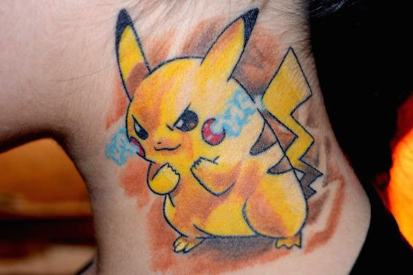 30 Awesome Pokemon Tattoos to Help You Catch 'Em A top-10 arts  Tattoos Pokemon
