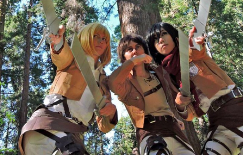 Attack on Titan Cosplay Collection