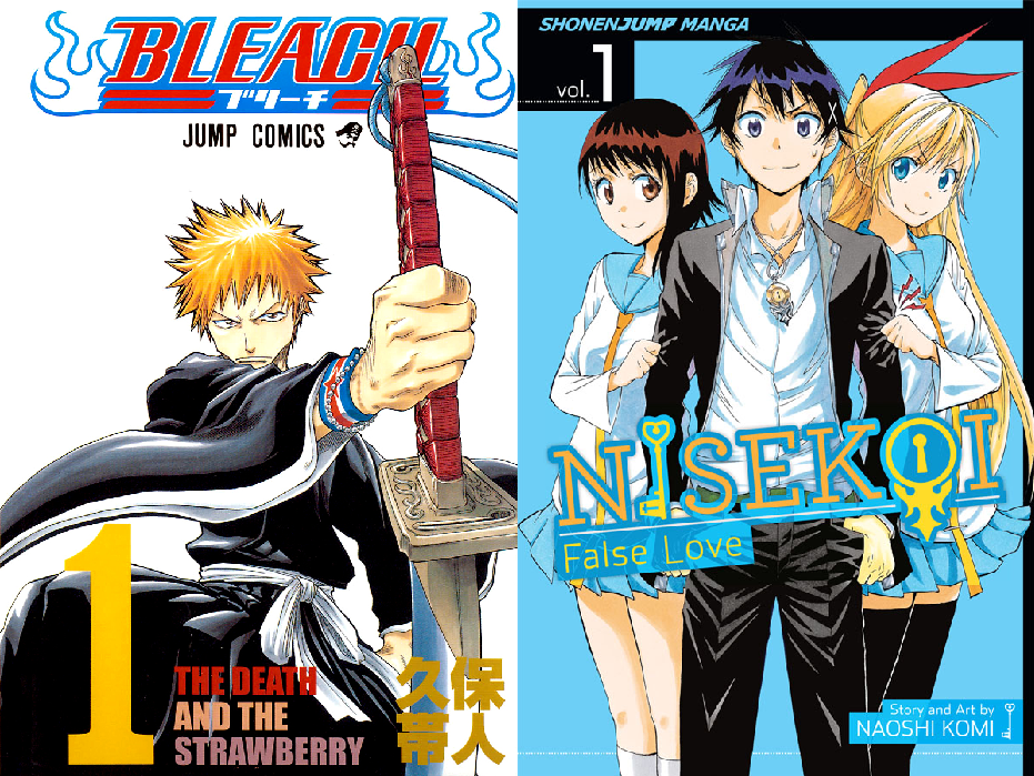 Bleach and Nisekoi manga to end in same double issue of Weekly Shounen Jump!