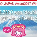 """Re:ZERO"" Conquers Two Categories in the SUGOI JAPAN Award 2017 Competition"
