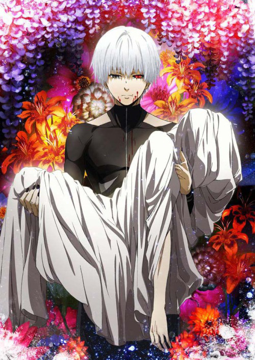 Tokyo-Ghoul-Root-A-Ken-Kaneki-Official-Poster-Art-Haruhichan.com_ First Impressions: Tokyo Ghoul √A