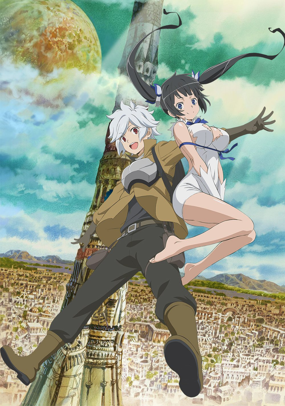 [Video] 'Is it Wrong to Pick Up Girls in a Dungeon?'s 2nd PV streamed