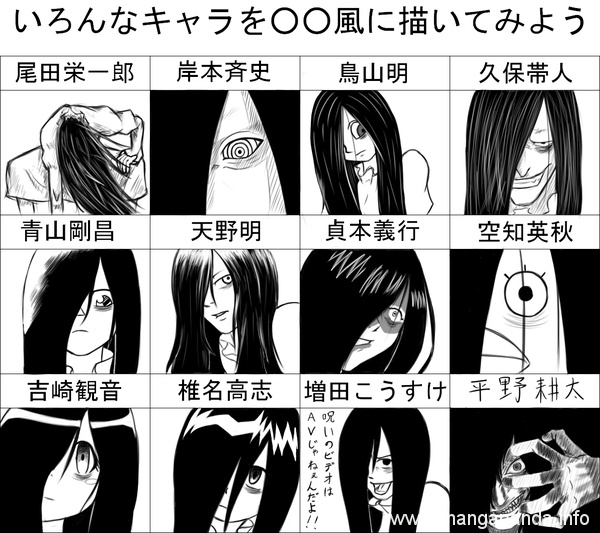 10-times-your-favourite-anime-characters-were-drawn-by-other-classic-manga-artists 10 Times Your Favourite Anime Characters Were Drawn by Other Classic Manga Artists