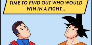 This Comic Shows You What Would Happen If Goku and Superman Were Forced To Fight