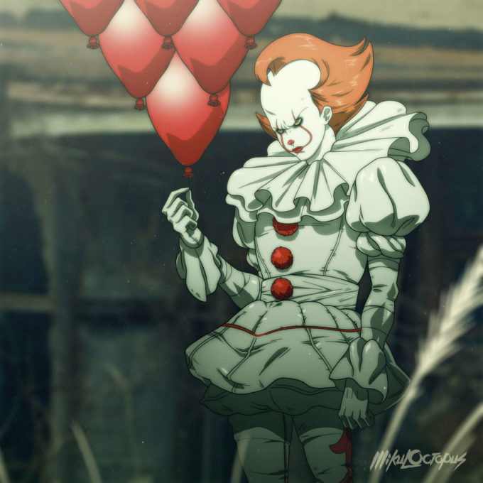 Stephen King's IT Gets an Anime Makeover