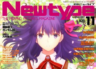 Popular Male And Female Anime Character Rankings In Newtype November 2017