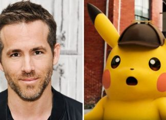 Ryan Reynolds Will Voice Pikachu in Live-Action Movie