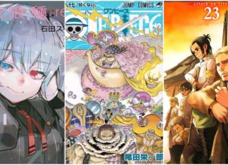 The Best-Selling Manga Of 2017 In Japan