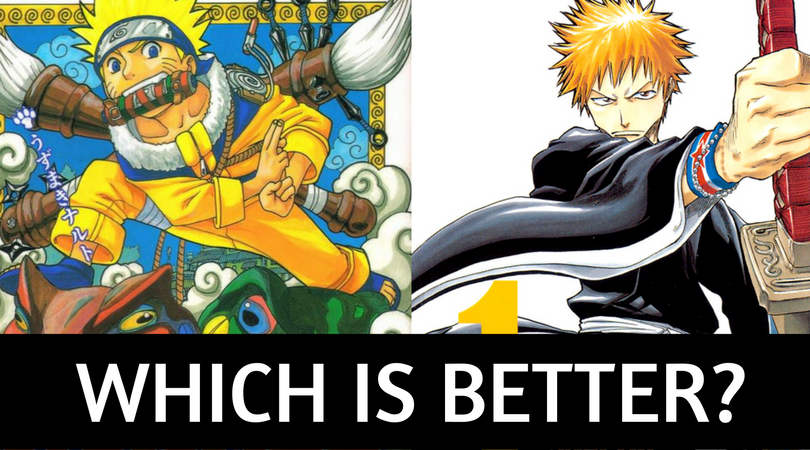 NARUTO VS BLEACH! WHICH IS BETTER ⋆ Anime & Manga