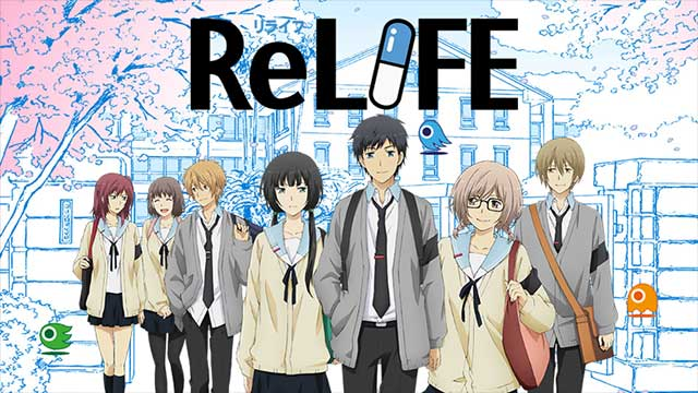 The RELIFE Manga Series Is Ending This March With It's 222nd Chapter news manga  Manga Japan 2018