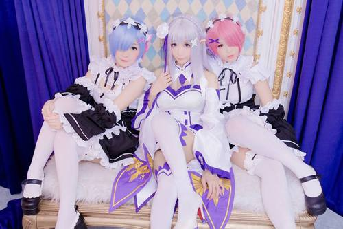 These Rem & Ram Cosplays will make you fall in Love with the character