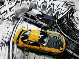 You Are Not Looking At A Manga Drawing Of Cars
