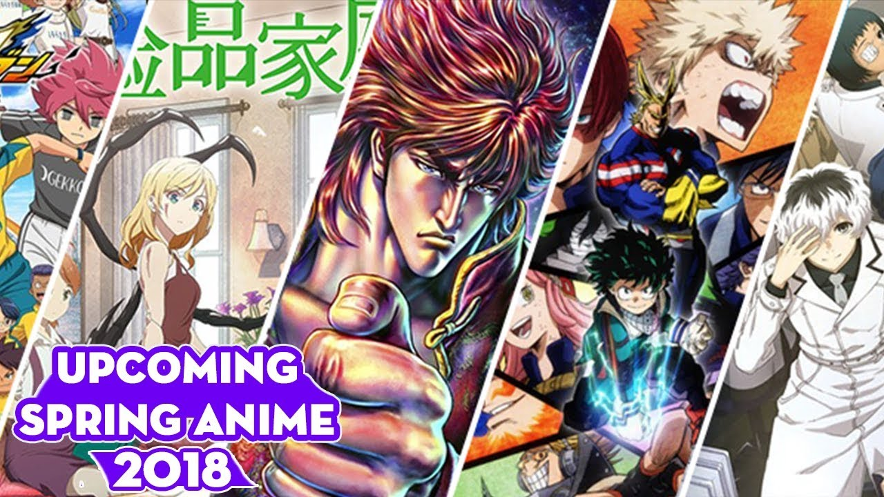 Spring anime 2018 full list release dates ⋆ anime manga