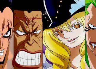 Straw Hat Grand Fleet Captains as Kids