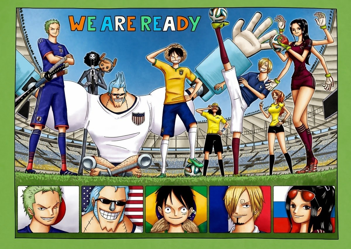 Anime at the World Cup – Fans bond after Japan-Senegal match by singing One Piece theme (Video)
