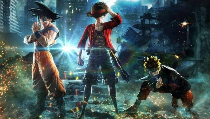 Jump Force Game announced with Goku, Naruto, Luffy to fight together