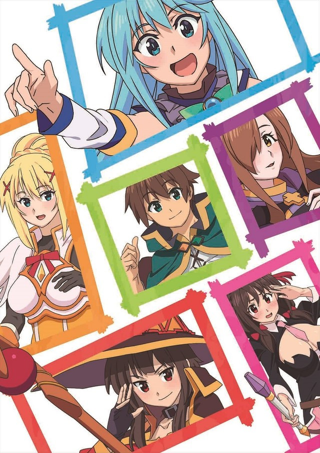 Konosuba - God's Blessing on This Wonderful World! Anime Gets Film Project