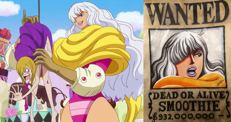 Oda Just Revealed The Devil Fruit Power of Charlotte Smoothie