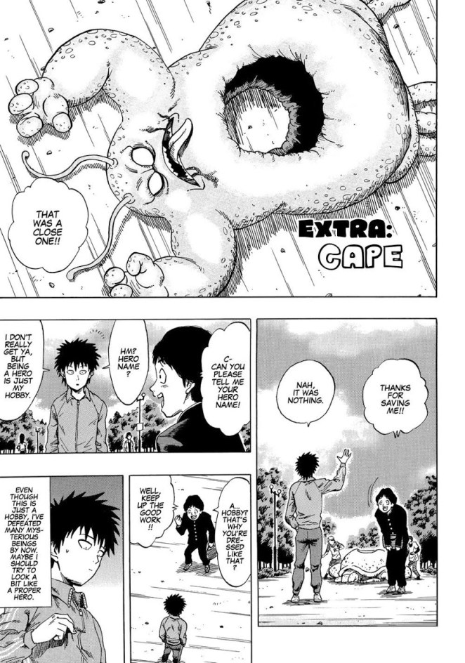 Read The One Punch Man And Dragon Ball Manga How Saitama Got His Cape