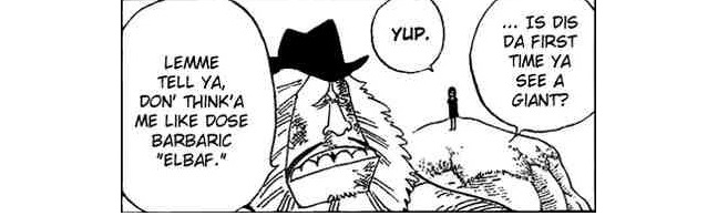 ELBAF IS UNDER THE PROTECTION OF SHANKS