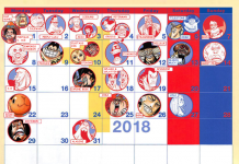 One Piece Birthday Calendar