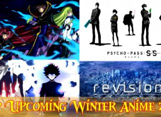 Top Upcoming Winter Anime 2019 Must Watch