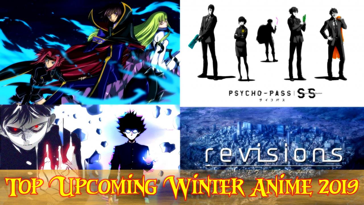 Best Anime 2019 Winter Top Upcoming Winter Anime 2019 Must Watch ⋆ Anime & Manga