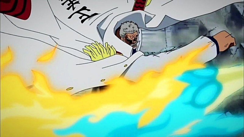 Monkey D. Garp's Haki Power