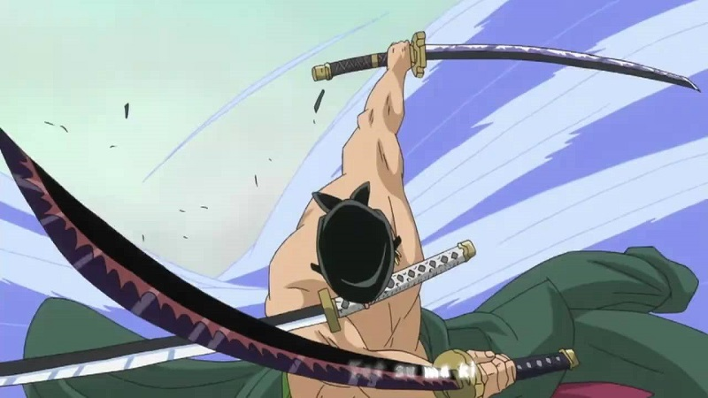 Zoro and Killer teaming up in Wano