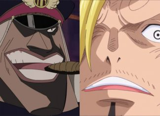 Sanji vs Shiryu of the Blackbeard Pirates
