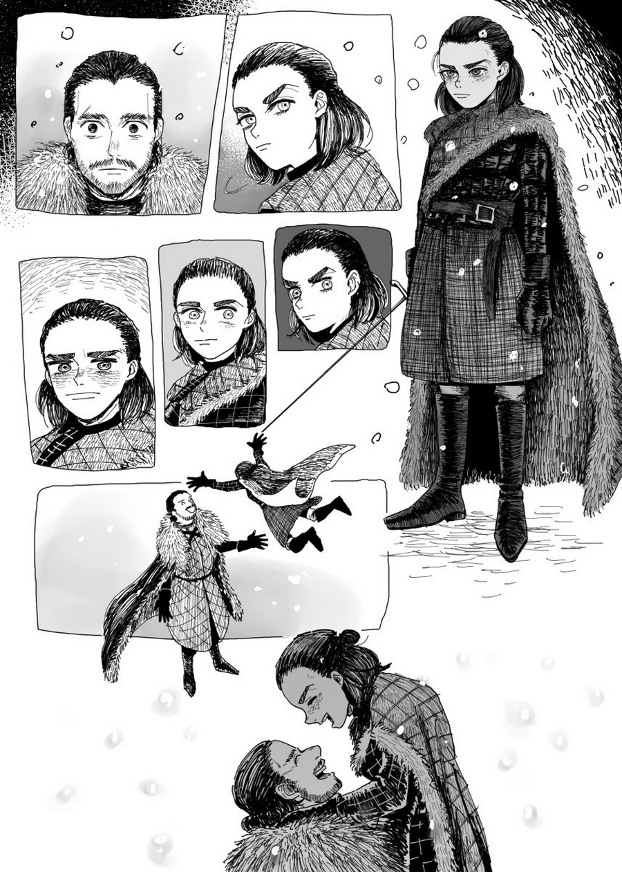 15 times artists turned Game of Thrones into a kickass anime