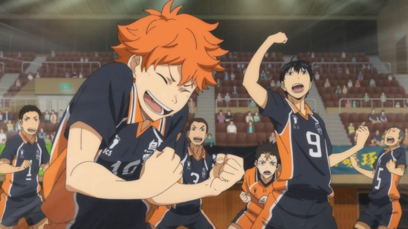 entry into sports anime
