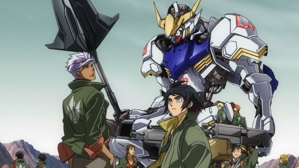 iron blooded orphans gundam anime