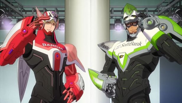 tiger and bunny anime
