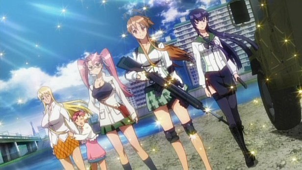 highschool of the dead anime