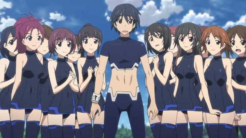 14 Anime Series Where A Boy Goes To An All Girls School Anime Manga